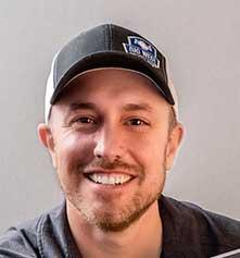 Joe Burnich Wearing Hat
